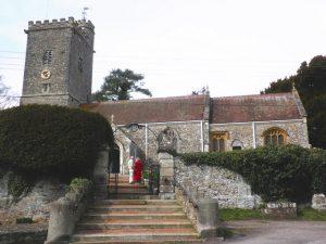 Peyhembury Church Wedding